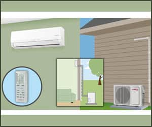 Best Ductless Mini Split Air Conditioner & Heat Pump